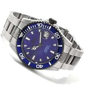 """Invicta """"10493"""" - Reloj analógico automático para hombre con correa de acero inoxidable, color plateado"""