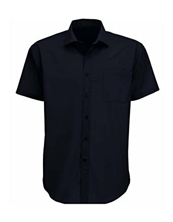Mens Classic Short Sleeve Easy Care Formal Shirts Sizes 14.5 to ...