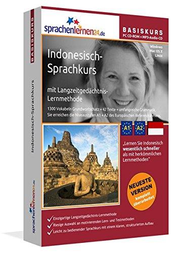 Indonesisch Sprachkurs  Indonesisch Lernen Für Anfänger  A1 A2 . Lernsoftware + Vokabeltrainer
