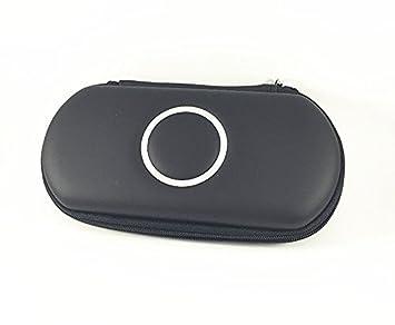 Bolsa de cubierta de PSP,Funda protectora para Sony PSP 1000/2000/3000-Negro