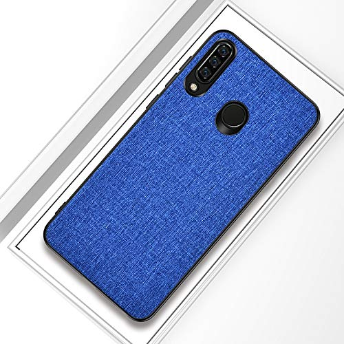 (Anstorematealliance Camera Accessories Mobile Acccessories Shockproof Cloth Texture PC+ TPU Protective Case for Huawei Honor 10i (Dark Blue) (Color : Dark Blue))