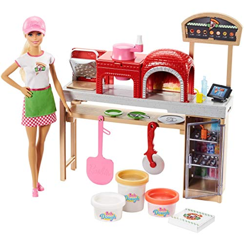 Barbie Pizzaiola, Loira, Mattel