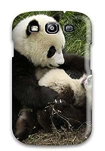 Galaxy S3 Case Bumper Tpu Skin Cover For Panda Bears Accessories