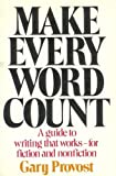 Make Every Word Count, Gary Provost, 0898790409