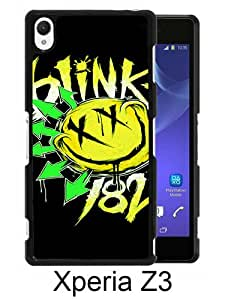 Sony Xperia Z3 case,Unique Design Blink 182 Black cell phone case for Sony Xperia Z3
