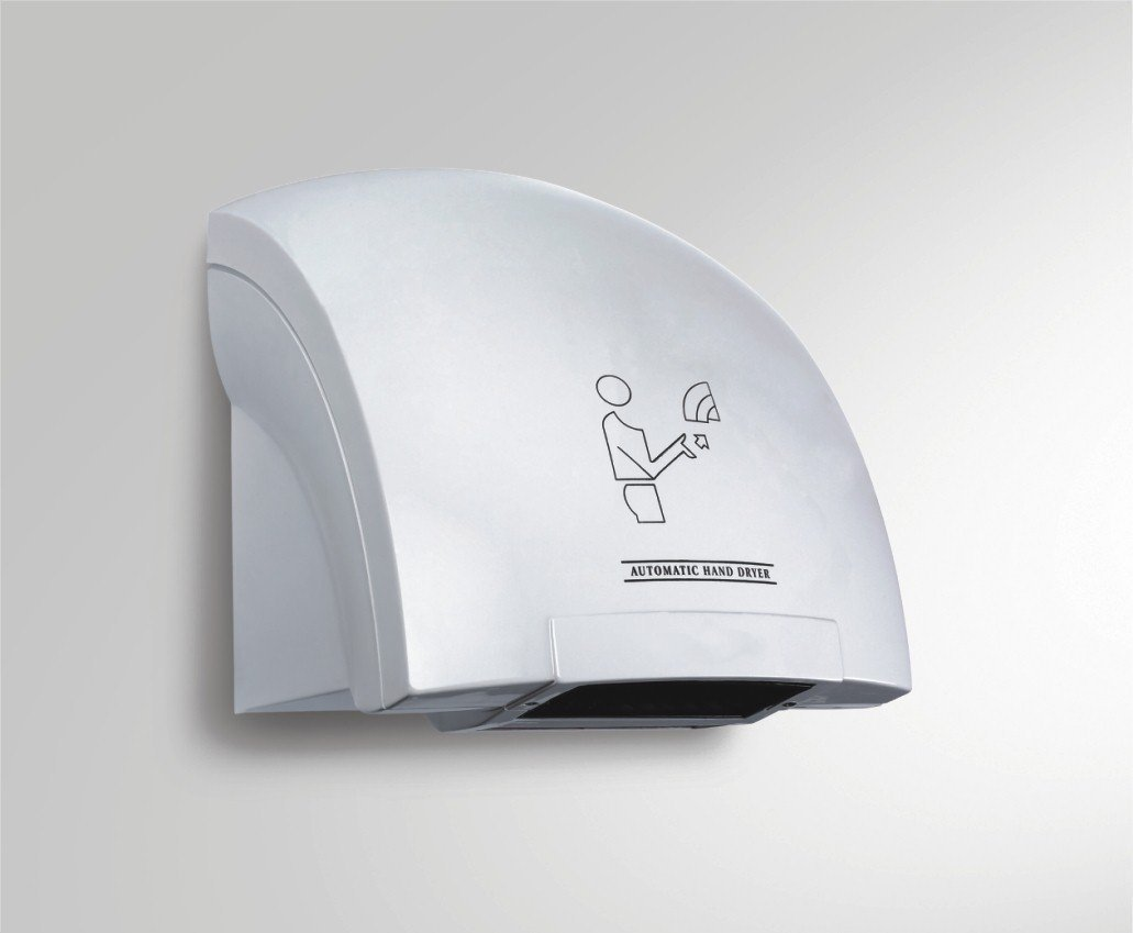 3Gdecor Automatic Sensor High Jet Speed Hand Dryer for Washroom (White)