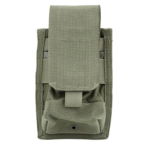 Strike M4 Double Mag Pouch (Blackhawk 37CL02RG Strike M4/M16 Double Mag Pouch with 2 Holds, Ranger Green)