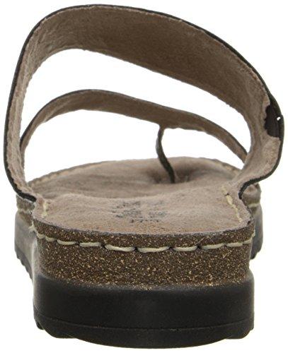 Bella Vita Tivoli de la mujer sandalias de anillo para dedo del pie. Black