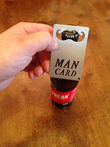 MAN CARD, Credit Card Sized Bottle Opener