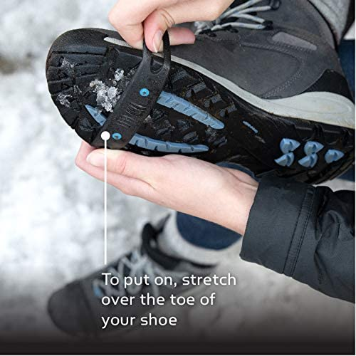 Yaktrax Quick Trax Studded Traction Shoe Bands 1 Pair