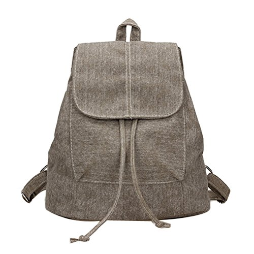 Donalworld Women Casual Cover Drawstring Backpkack Bag Pt2