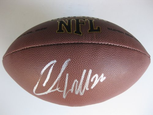 - Chris Wells, Beanie Wells, Arizona Cardinals, Ohio State, Buckeyes, Signed, Autographed, Nfl Football, a Coa with the Proof Photo of Chris Signing Will Be Included with the Football