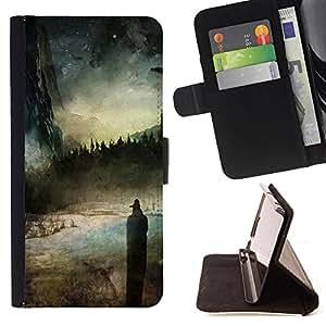 For Samsung Galaxy S6 Edge Plus / S6 Edge+ G928,S-type Ciel - Dibujo PU billetera de cuero Funda Case Caso de la piel de la bolsa protectora