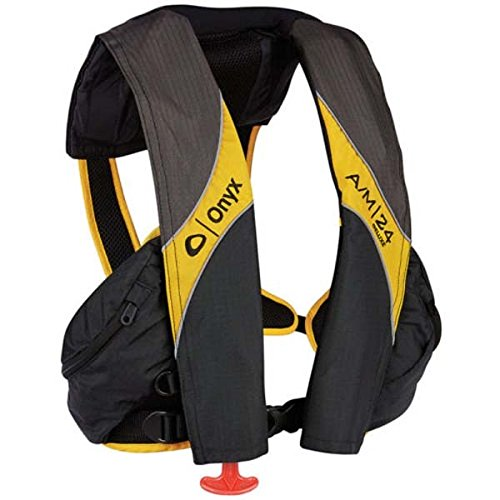 AMRA-132100-701-004-15 * Onyx Outdoors A/M-24 Deluxe Automatic/Manual Inflatable Life Jacket (PFD)