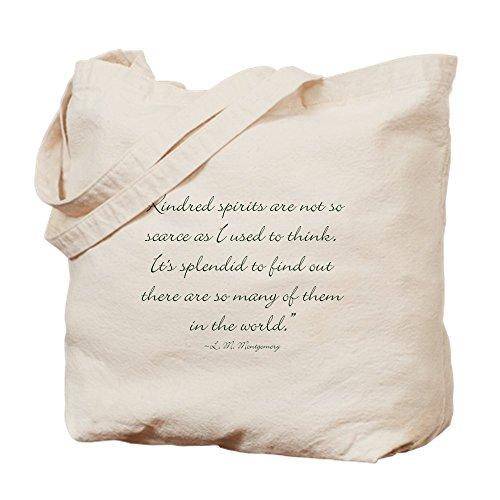 CafePress–Kindred Spirits no son los escasos–Gamuza de bolsa de lona bolsa, bolsa de la compra Small caqui