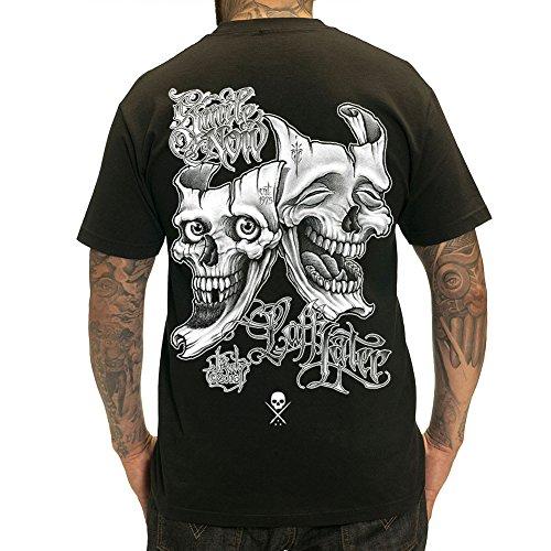 Sullen Men's Laff Later SS T Shirt Black