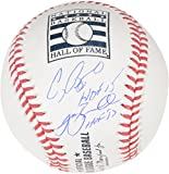 Jeff Bagwell and Craig Biggio Houston Astros Autographed Baseball with HOF Inscriptions - Fanatics Authentic Certified