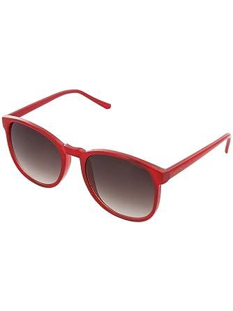 Amazon.com: Komono URKEL anteojos de sol, talla única , rojo ...