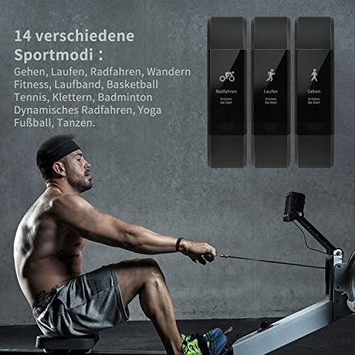 Fitness Trackers con pulsómetro, aisirer Fitness de pulsera ...