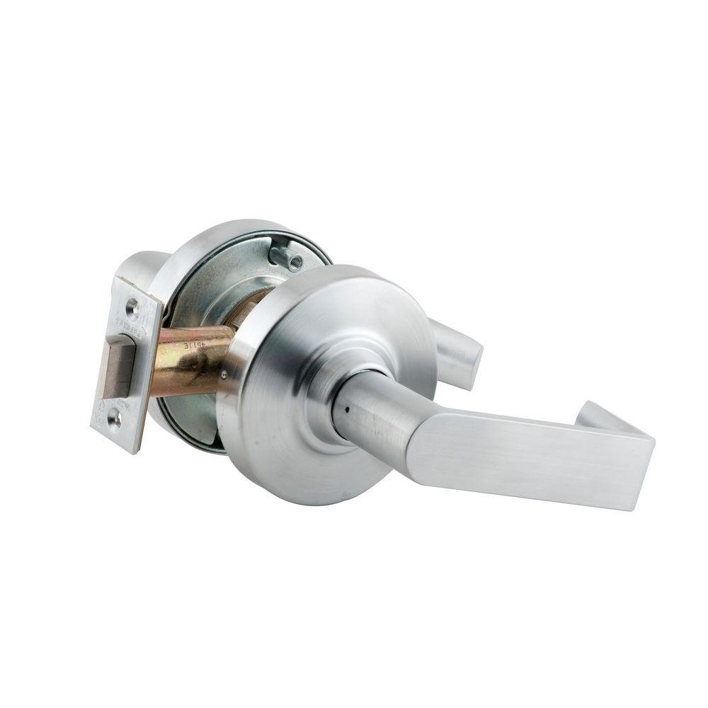 Schlage ND10S RHO 626 Passage Lever Lockset, Satin Chrome Finish. by Schlage Lock Company B00GFI9OA8