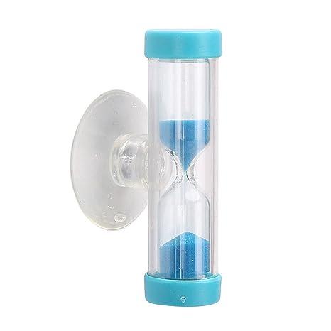Merssavo Moda Reloj de Arena Temporizador con ventosa 3 Minutos 180 Segundos Juguete Temporizador de Reloj