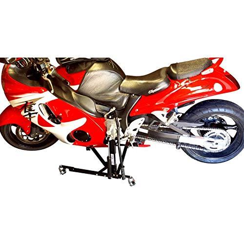 SV Racing Parts for Suzuki Hayabusa Models Black Custom Paddock Style Hydraulic Side Lift Motorcycle Stand