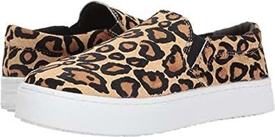 Sam Edelman Women's Lacey New Nude Leopard Leopard Brahma Hair Loafer