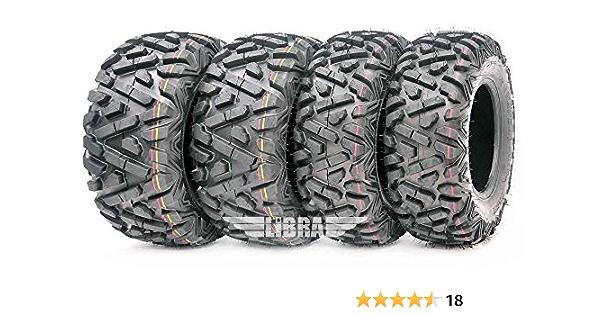 Juego de 4 neumáticos ATV 24x8-12 y 24x9-11 00-06 Honda Fourtrax Rancher TRX350FM 350 4X4