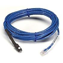 Black Box Environ Monitoring Sys Waterproof Dual Temp/Hum Sensor 15 ft Cable