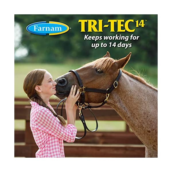 Farnam Tri-Tec 14 Fly Repellent Spray for Horses with Sunscreen 4