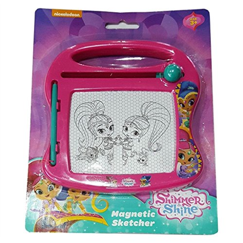 Magic Sketcher (SHIMMER & SHINE Mini Magnetic Sketcher. Draw on the mini magic sketcher and wipe it clean! Perfect for travel and holidays)
