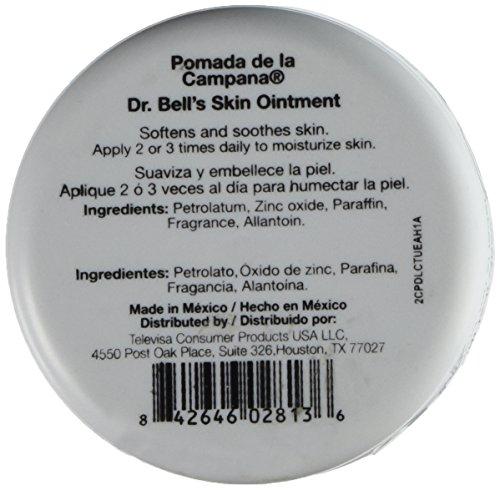 Amazoncom Pomada De La Campana Dr Bells Pomade Skin Ointment