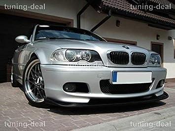 BMW Serie 3 E46 sedán / Familiar Spoiler Delantero Alerón M Paquete Top TUNING: Amazon.es: Coche y moto