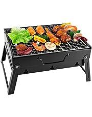 SunJas - Carrello per Barbecue, Pieghevole, Ideale per PIC nic e Campeggio e per Il Viaggio