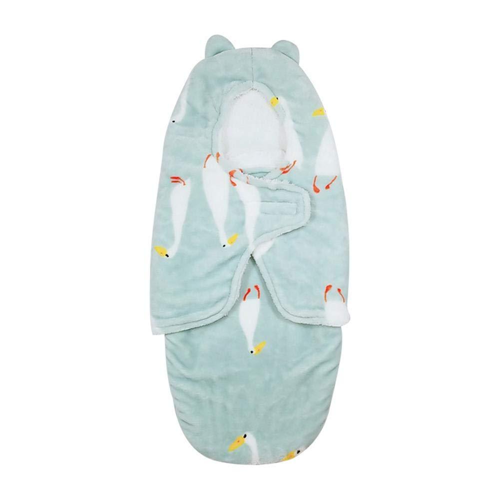 iBaste Baby Pucksack Original Pucksack Swaddle Decke Newborn Baby Swaddle Wrap Halten Sie Ihr Kind sicher, bequem und warm GC00715--008