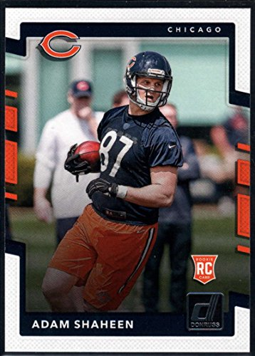 2017 Donruss #354 Adam Shaheen Chicago Bears Rookie Football Card