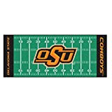 Fanmats NCAA Oklahoma State University Cowboys Nylon Face Football Field Runner