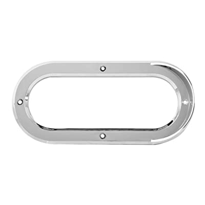Grand General 80808 Light (Clear Plastic Vertical Rim with Visor for Oval), 1 Pack: Automotive