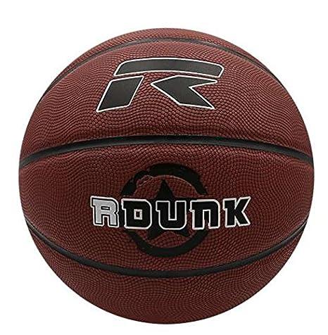 Otras Marcas Balón Baloncesto Rox DUNK Cuero-5: Amazon.es ...