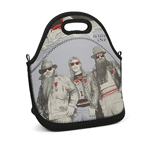 (SUITPANRe Portable Lunch Box Insulated Lunch Bag Non-Toxic Carry Boxes Rock Album Cover Cooler Tote Bag for School Work Office Picnic Gym)