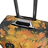 Suitcase Cover Halloween Night Luggage Cover Travel