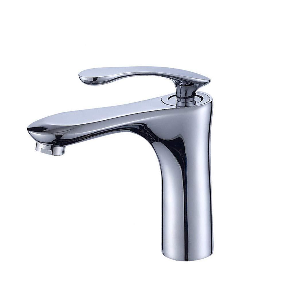 PajCzh Badezimmer-Becken Höher StandardeinzellocHöheißes und kaltes Wasserhahnbadbecken keramisches Bassin-Badezimmerschrank
