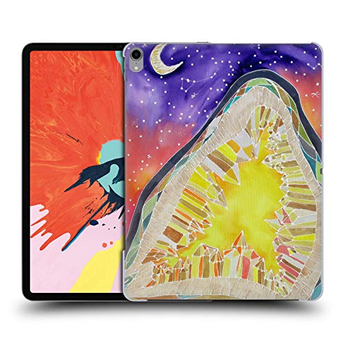 Official Lauren Moss Citrine and Stars Agates & Crystals Hard Back Case Compatible for iPad Pro 12.9 (2018)