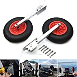 Seamax Deluxe 4x4 Boat Launching Dolly Wheels System for Zodiac Type Inflatable Boats & Aluminum Boats
