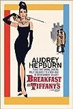 Póster Audrey Hepburn - Breakfast at Tiffany's de Avela - cartel económico, póster XXL
