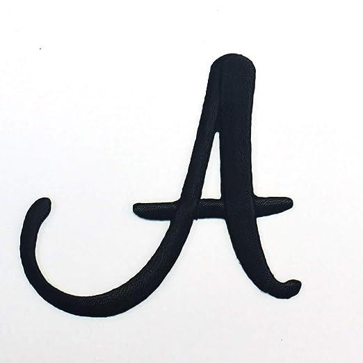 Amazon.com: Retro Script Iron On Embroidered Monogram Single