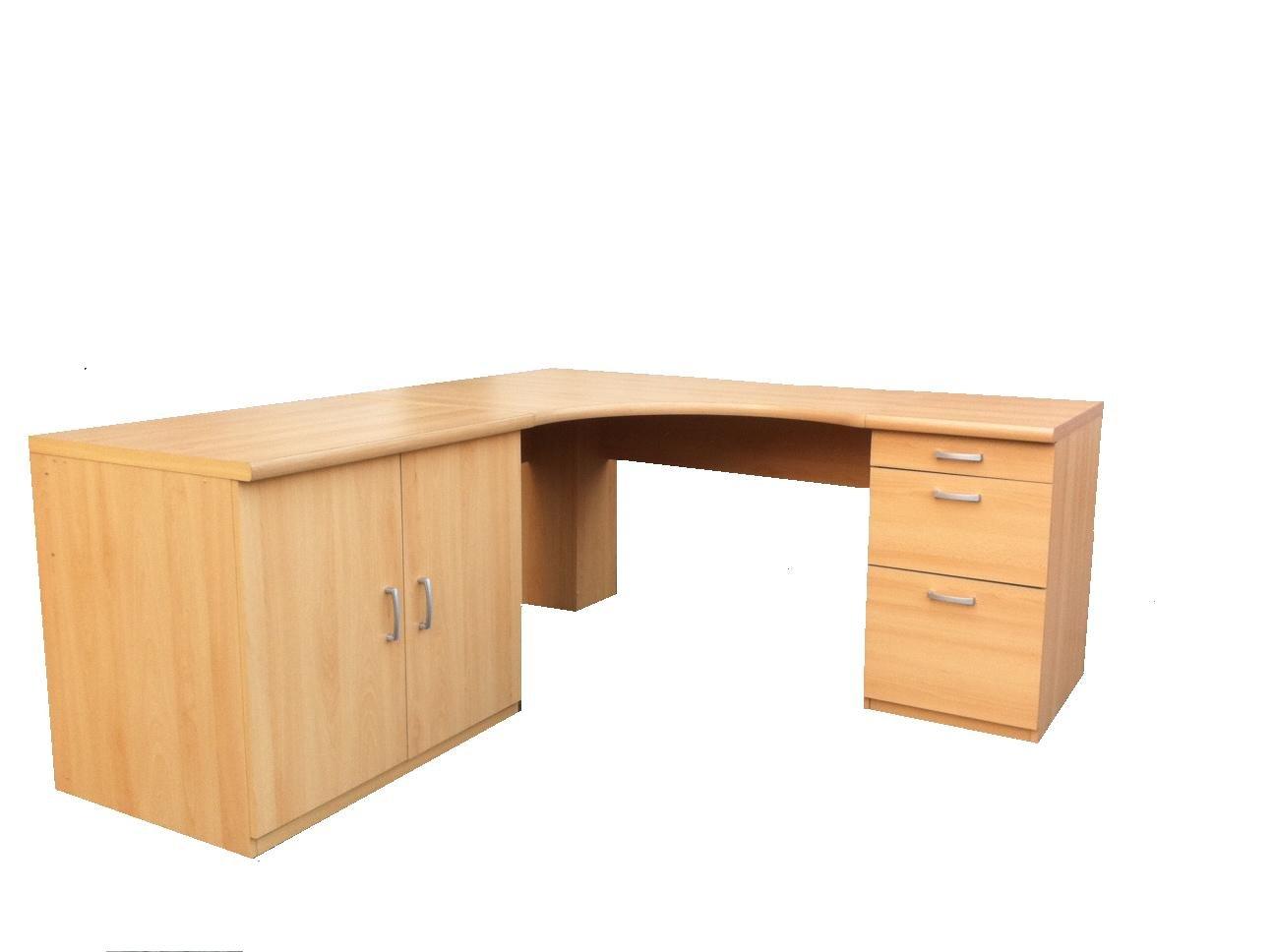 corner office tables. Morgan Beech Large Corner Computer Desk Office Table Option 7 - UK ONLY: Amazon.co.uk: Kitchen \u0026 Home Tables E