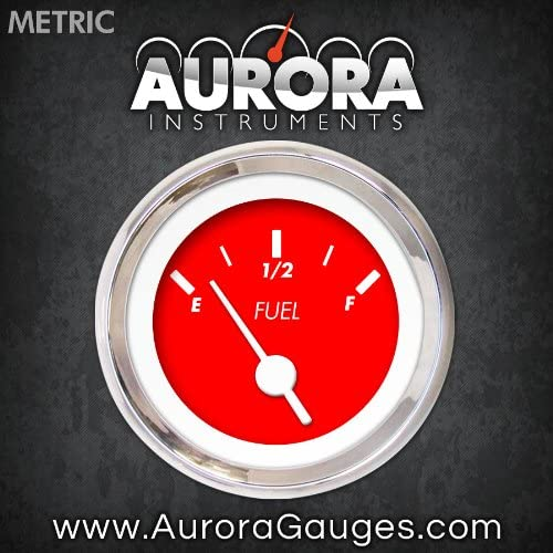 Aurora Instruments GAR135ZMXKABAD Marker Red Fuel Level Gauge