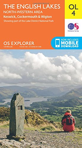 The English Lakes - North-Western Area, Keswick, Cockermouth & Wigton (OS Explorer Map)