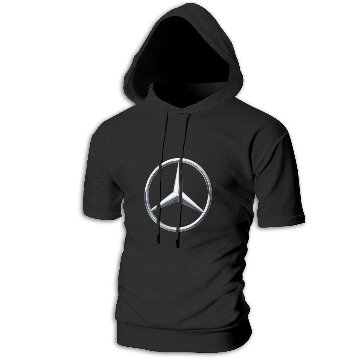 Kinggo Custom Mans with Hood 3D Mercedes Benz Logo Breathable Hoodie